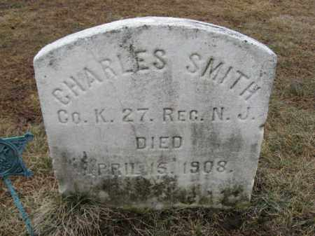 SMITH, CHARLES - Morris County, New Jersey | CHARLES SMITH - New Jersey Gravestone Photos
