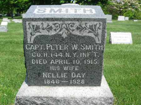 SMITH, CAPT.PETER W. - Morris County, New Jersey | CAPT.PETER W. SMITH - New Jersey Gravestone Photos