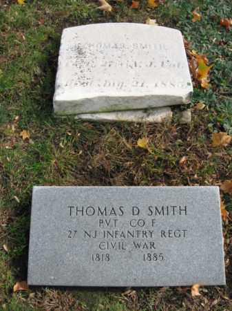 SMITH, PVT.THOMAS D. - Morris County, New Jersey | PVT.THOMAS D. SMITH - New Jersey Gravestone Photos
