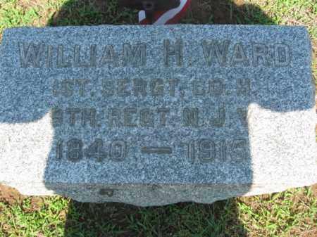 WARD, WILLIAM H. - Morris County, New Jersey   WILLIAM H. WARD - New Jersey Gravestone Photos
