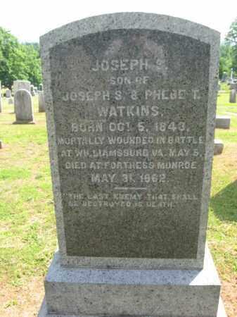 WATKINS, JOSEPH S. - Morris County, New Jersey   JOSEPH S. WATKINS - New Jersey Gravestone Photos