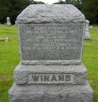 WINANS, JAMES H. - Morris County, New Jersey   JAMES H. WINANS - New Jersey Gravestone Photos