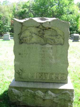 WINTERS, ABRAM - Morris County, New Jersey   ABRAM WINTERS - New Jersey Gravestone Photos