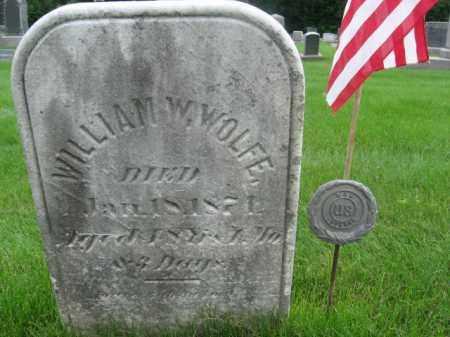 WOLFE, WILLIAM W. - Morris County, New Jersey | WILLIAM W. WOLFE - New Jersey Gravestone Photos