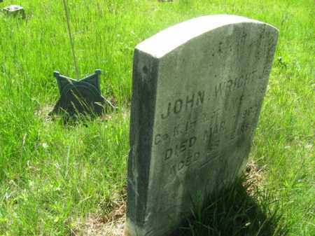 WRIGHT, CORP.JOHN - Morris County, New Jersey | CORP.JOHN WRIGHT - New Jersey Gravestone Photos