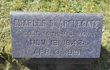 APPLEGATE, CHARLES S. - Ocean County, New Jersey   CHARLES S. APPLEGATE - New Jersey Gravestone Photos