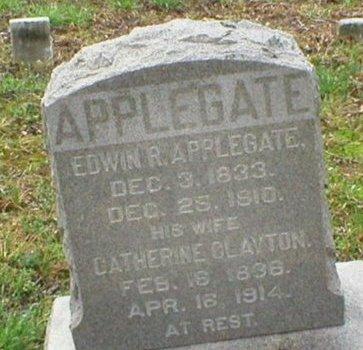 APPLEGATE, EDWIN R. - Ocean County, New Jersey | EDWIN R. APPLEGATE - New Jersey Gravestone Photos