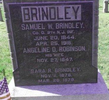 BRINDLEY, SAMUEL W. - Ocean County, New Jersey   SAMUEL W. BRINDLEY - New Jersey Gravestone Photos