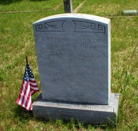 BROWER, ANTHONY - Ocean County, New Jersey | ANTHONY BROWER - New Jersey Gravestone Photos