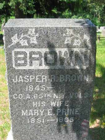 BROWN, JASPER R. - Ocean County, New Jersey | JASPER R. BROWN - New Jersey Gravestone Photos