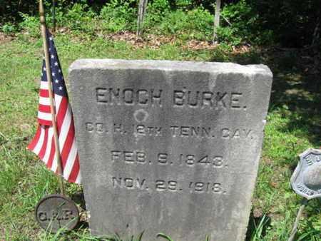 BURKE, ENOCH - Ocean County, New Jersey   ENOCH BURKE - New Jersey Gravestone Photos