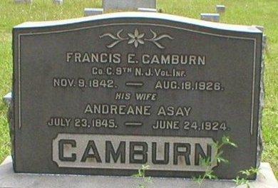 CAMBURN, FRANCIS E. - Ocean County, New Jersey   FRANCIS E. CAMBURN - New Jersey Gravestone Photos