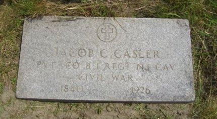 CASLER, JACOB C. - Ocean County, New Jersey | JACOB C. CASLER - New Jersey Gravestone Photos