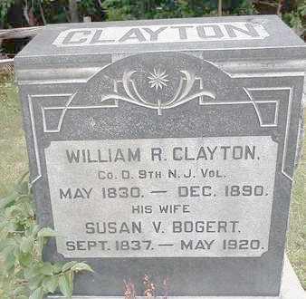 CLAYTON, WILLIAM R. - Ocean County, New Jersey | WILLIAM R. CLAYTON - New Jersey Gravestone Photos