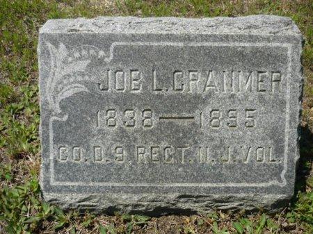 CRANMER, JOB L. - Ocean County, New Jersey   JOB L. CRANMER - New Jersey Gravestone Photos