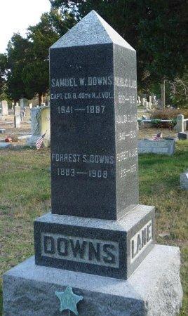 DOWNS, SAMUEL W. - Ocean County, New Jersey | SAMUEL W. DOWNS - New Jersey Gravestone Photos