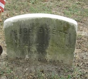 DYETT (DYATT), HUGH - Ocean County, New Jersey   HUGH DYETT (DYATT) - New Jersey Gravestone Photos