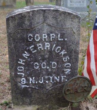 ERRICKSON, JOHN A. - Ocean County, New Jersey | JOHN A. ERRICKSON - New Jersey Gravestone Photos