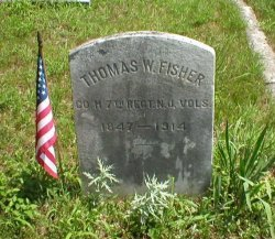 FISHER, THOMAS W. - Ocean County, New Jersey | THOMAS W. FISHER - New Jersey Gravestone Photos