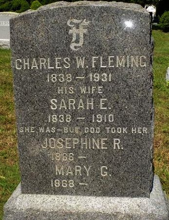 FLEMING, CHARLES W. - Ocean County, New Jersey | CHARLES W. FLEMING - New Jersey Gravestone Photos