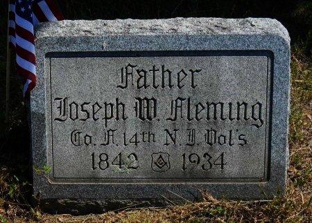 FLEMING, JOSEPH W. - Ocean County, New Jersey | JOSEPH W. FLEMING - New Jersey Gravestone Photos