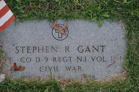 GANT, STEPHEN R. - Ocean County, New Jersey | STEPHEN R. GANT - New Jersey Gravestone Photos