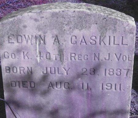 GASKILL, EDWIN A. - Ocean County, New Jersey | EDWIN A. GASKILL - New Jersey Gravestone Photos