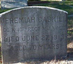 GASKILL, JEREMIAH - Ocean County, New Jersey   JEREMIAH GASKILL - New Jersey Gravestone Photos