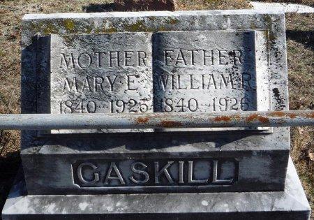 GASKILL, WILLIAM R. - Ocean County, New Jersey | WILLIAM R. GASKILL - New Jersey Gravestone Photos