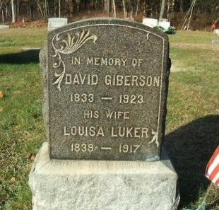 GIBERSON, DAVID - Ocean County, New Jersey | DAVID GIBERSON - New Jersey Gravestone Photos