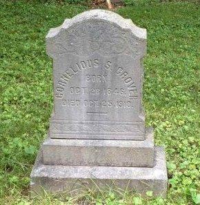 GROVER, CORNELIUS S. - Ocean County, New Jersey | CORNELIUS S. GROVER - New Jersey Gravestone Photos