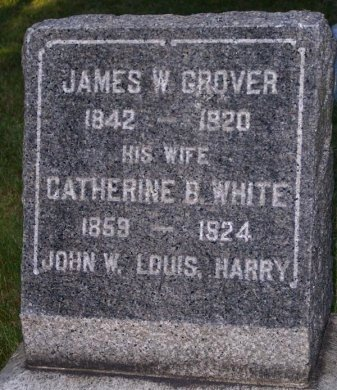 GROVER, JAMES W. - Ocean County, New Jersey | JAMES W. GROVER - New Jersey Gravestone Photos