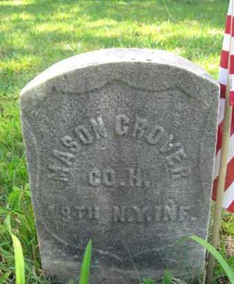 GROVER, MASON - Ocean County, New Jersey | MASON GROVER - New Jersey Gravestone Photos