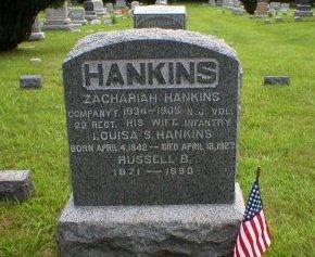HANKINS, ZACHARIAH - Ocean County, New Jersey   ZACHARIAH HANKINS - New Jersey Gravestone Photos