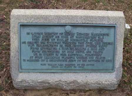 HANKINSON (CENOTAPH), HENRY R. - Ocean County, New Jersey   HENRY R. HANKINSON (CENOTAPH) - New Jersey Gravestone Photos