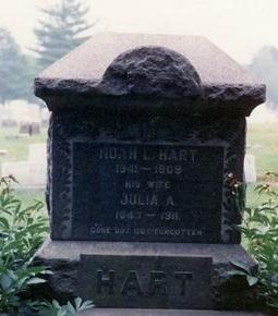 HART, NOAH L. - Ocean County, New Jersey | NOAH L. HART - New Jersey Gravestone Photos