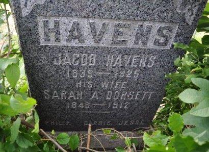 HAVENS, JACOB - Ocean County, New Jersey   JACOB HAVENS - New Jersey Gravestone Photos