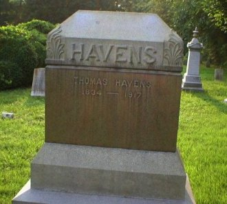 HAVENS, THOMAS - Ocean County, New Jersey | THOMAS HAVENS - New Jersey Gravestone Photos