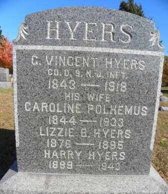 HYERS, GARRETT VINCENT - Ocean County, New Jersey | GARRETT VINCENT HYERS - New Jersey Gravestone Photos