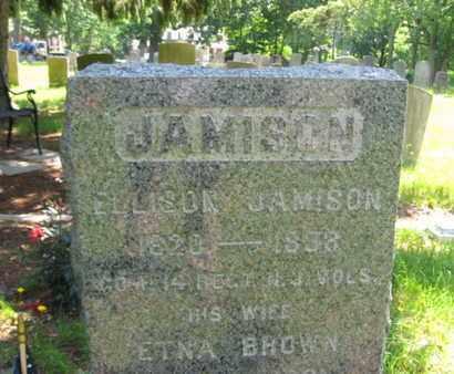 JAMISON, ELLISON - Ocean County, New Jersey | ELLISON JAMISON - New Jersey Gravestone Photos