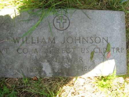 JOHNSON, WILLIAM - Ocean County, New Jersey | WILLIAM JOHNSON - New Jersey Gravestone Photos