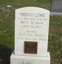 LEWIS, THOMAS - Ocean County, New Jersey | THOMAS LEWIS - New Jersey Gravestone Photos