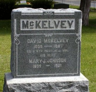 MCKELVEY, DAVID - Ocean County, New Jersey | DAVID MCKELVEY - New Jersey Gravestone Photos