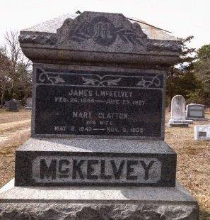 MCKELVEY, JAMES I. - Ocean County, New Jersey | JAMES I. MCKELVEY - New Jersey Gravestone Photos