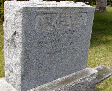 MCKELVEY (MCKELVY), JOHN S. - Ocean County, New Jersey | JOHN S. MCKELVEY (MCKELVY) - New Jersey Gravestone Photos