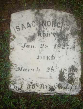 NORCROSS, ISAAC - Ocean County, New Jersey   ISAAC NORCROSS - New Jersey Gravestone Photos