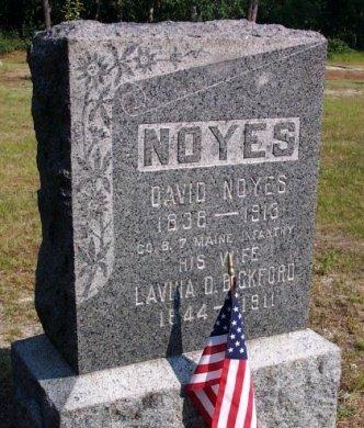 NOYES, DAVID - Ocean County, New Jersey   DAVID NOYES - New Jersey Gravestone Photos