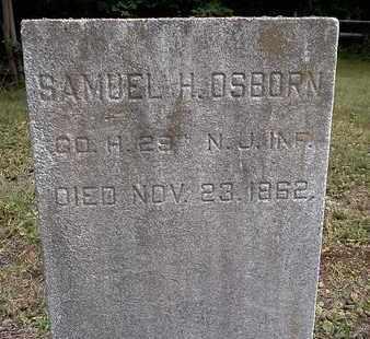 OSBORN, SAMUEL H. - Ocean County, New Jersey   SAMUEL H. OSBORN - New Jersey Gravestone Photos