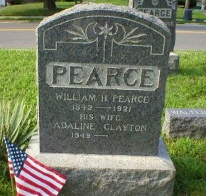 PEARCE, WILLIAM H. - Ocean County, New Jersey | WILLIAM H. PEARCE - New Jersey Gravestone Photos