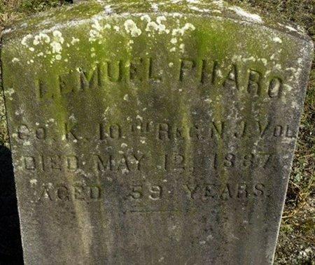 PHARO, LEMUEL - Ocean County, New Jersey | LEMUEL PHARO - New Jersey Gravestone Photos